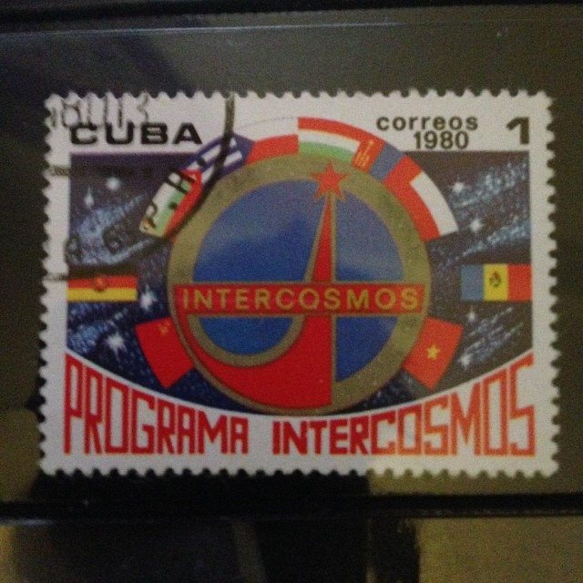 #cuban #intercosmos #programa #space #travel #stamps
