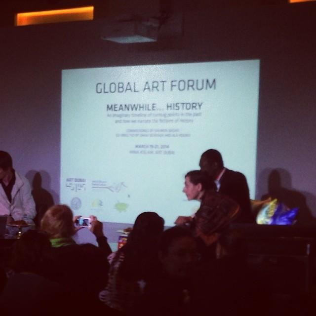 Global #art forum #documenta @artdubai