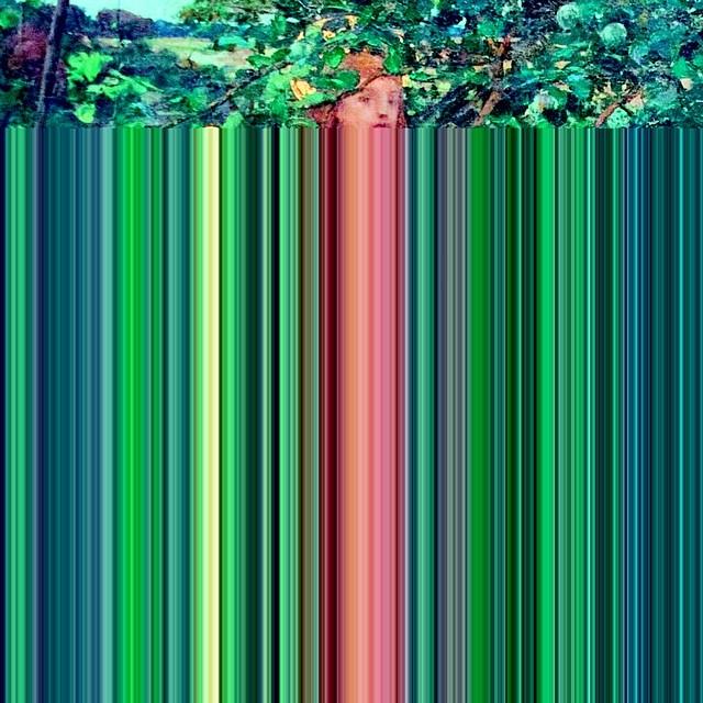 Old #glitch art #experiments - #joanofarc