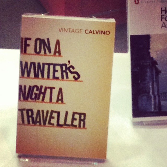 @foyles & I have a good relationship. Old work #2007 #graphicdesign #calvino #books #classic #literature