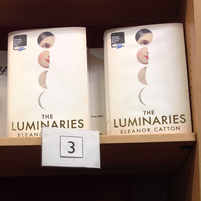 #art directed for #granta. Now on shelves everywhere #luminaries #manbookerprize #novel #moon #moonphase #jennygrigg