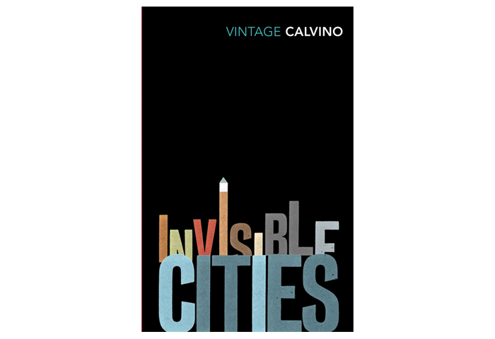 From the vault: A cover for one of my favourite novels. Invisible Cities by Italo Calvino. Design © Michael Salu 2007.