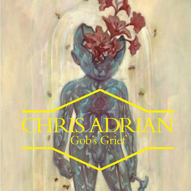 The latest in my series for Mr #magical #realism #ChrisAdrian with the incomparable @jamesjeanart #art #artist #liminal