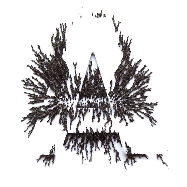 #magnetic #experiments #typography #michaelsalu