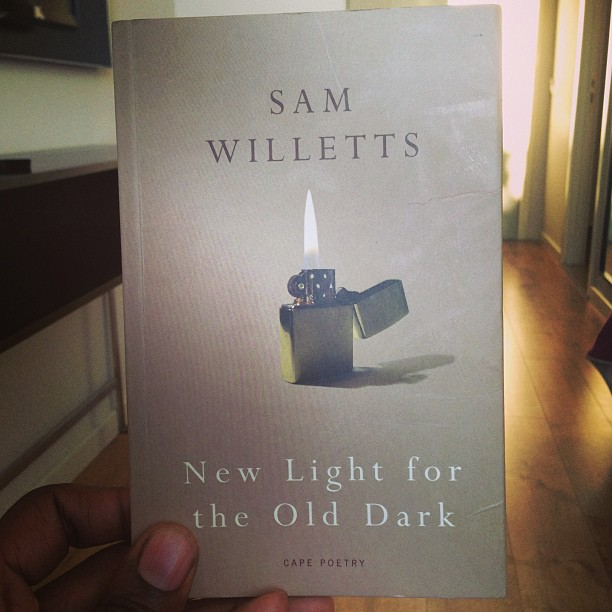 """""""…You might as well #accelerate us till our #days and #nights are #strobing by…"""" Great #poetry from Sam willetts via @jonathancape"""