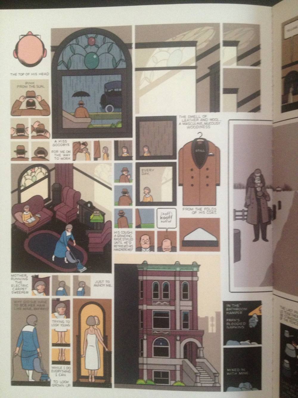 'Untitled' by Chris Ware. Granta 106
