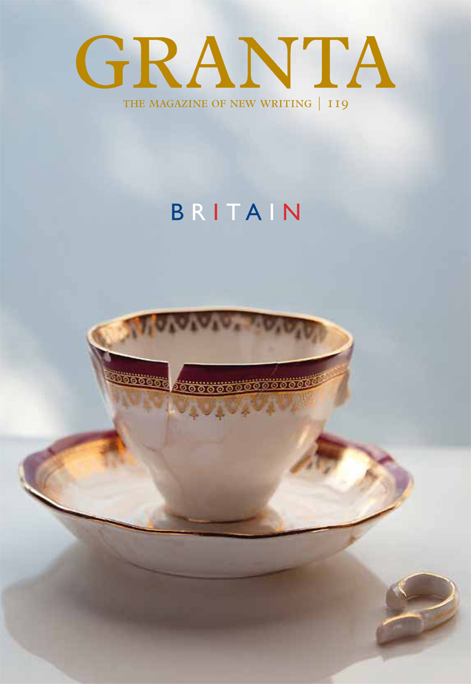 Favourite#Granta2012coversno. 7: Granta 119 Britain! Designed by Sir #PaulSmith for @GrantaMag's significant Britain issue.