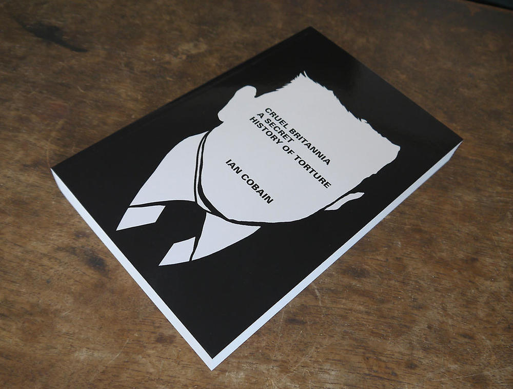 The detail is in its absence.   More great design by #FuelPublishing for us @PortobelloBooks.