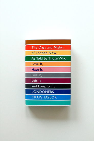 Our @dandad award winning cover. Londoners. Now also doing the rounds in paperback