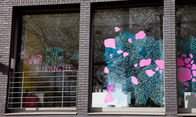 Su Kyung Lee, one of the illustrators from @GrantaMag Horror issue (http://www.granta.com/New-Writing/The-Art-of-Horror) has just finished the windows of Unit 9's 'Hoxton Window Project'. if you're in the area, go have a look! http://www.sukyunglee.com/