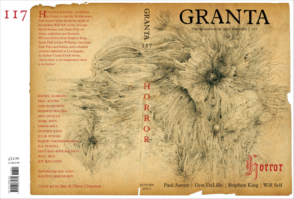 CHAPMAN BROTHERS INFECT GRANTA MAGAZINE!