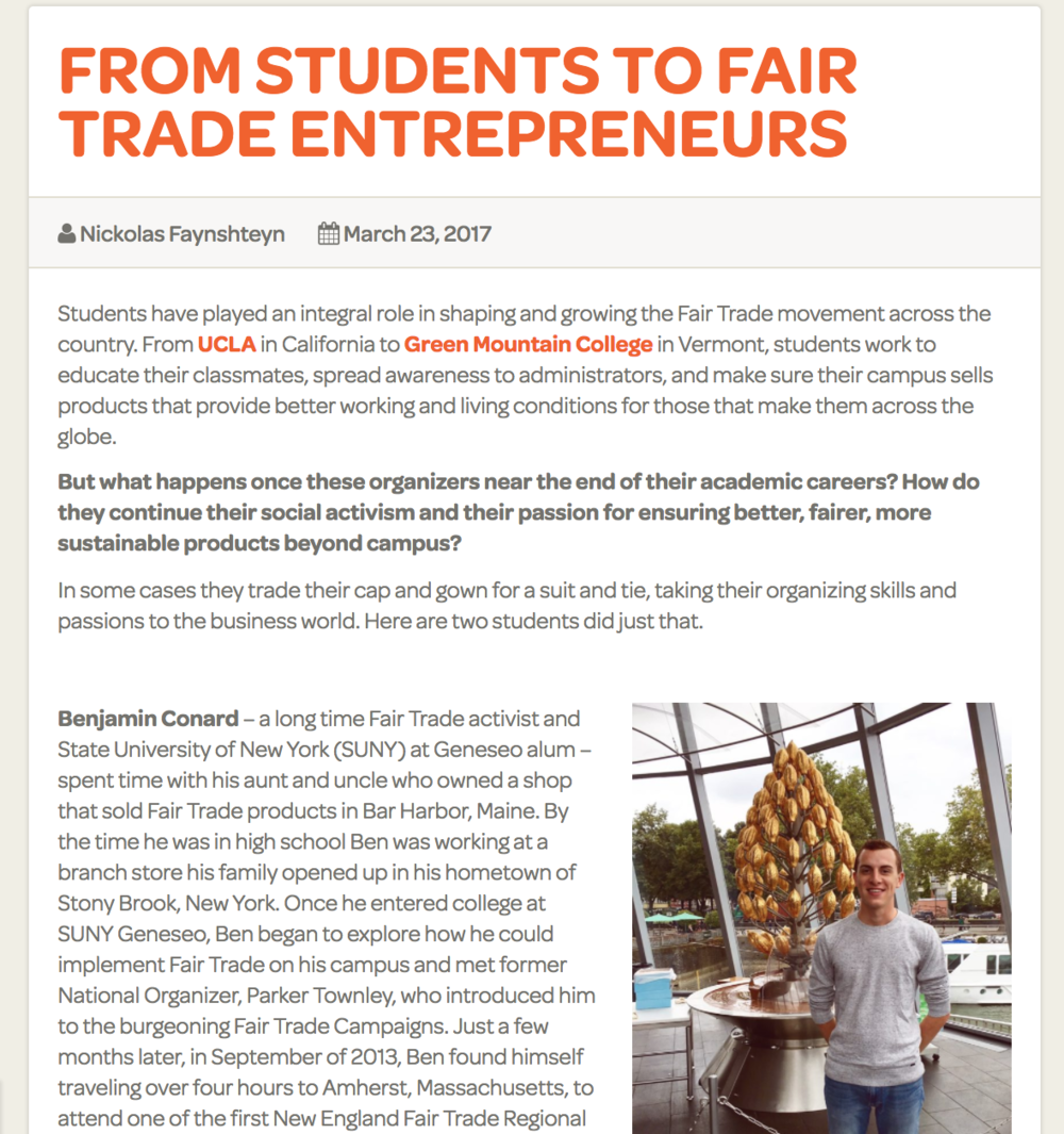 Article by Fair Trade Campaigns  [click to read]