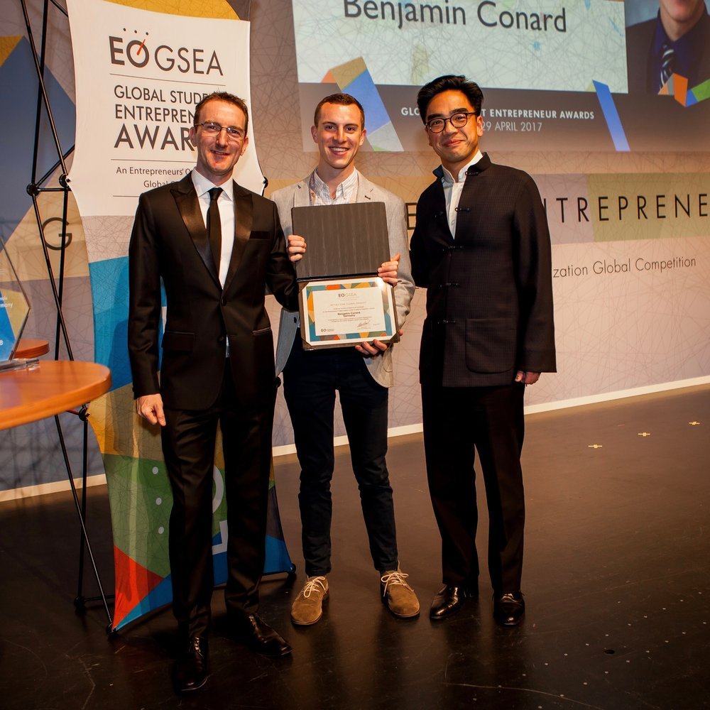 German National Champion, Global Student Entrepreneur Awards 2017