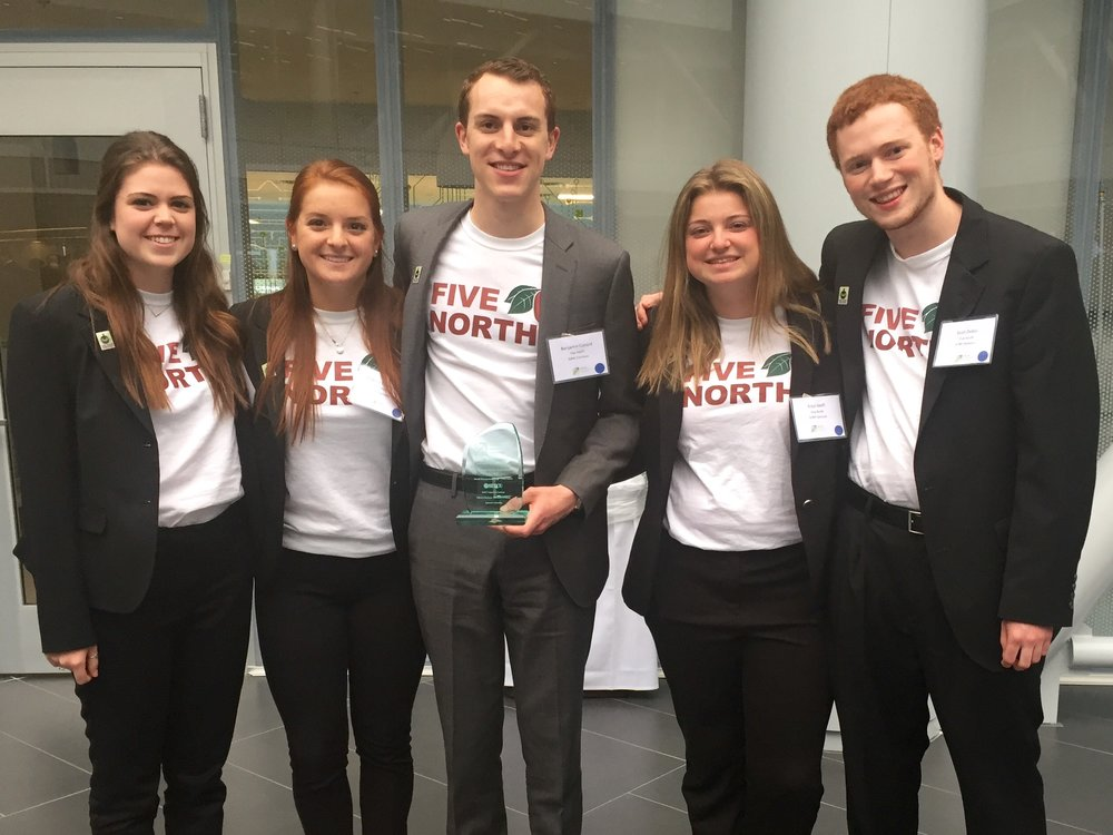 Undergraduate Excellence in Social Entrepreneurship, New York Business Plan Competition