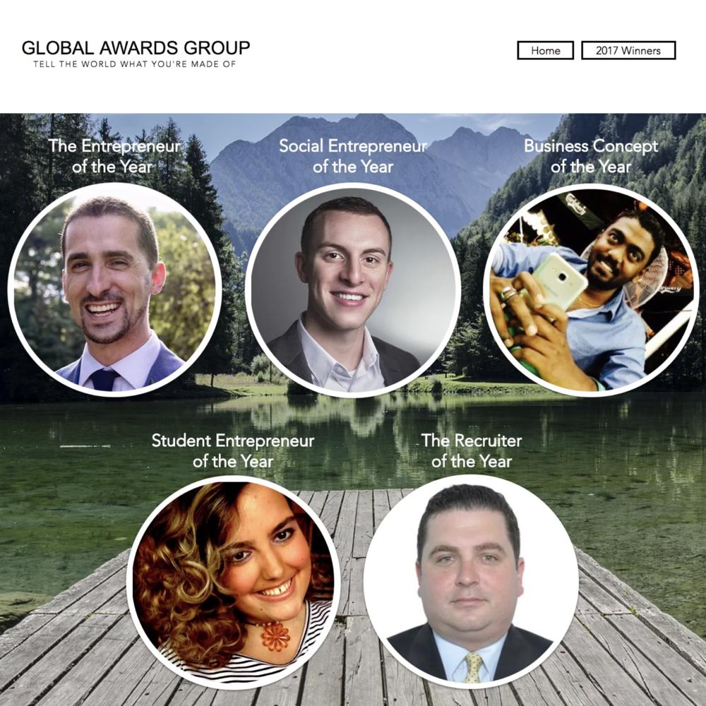 2017 Social Entrepreneur of the Year, Global Awards Group