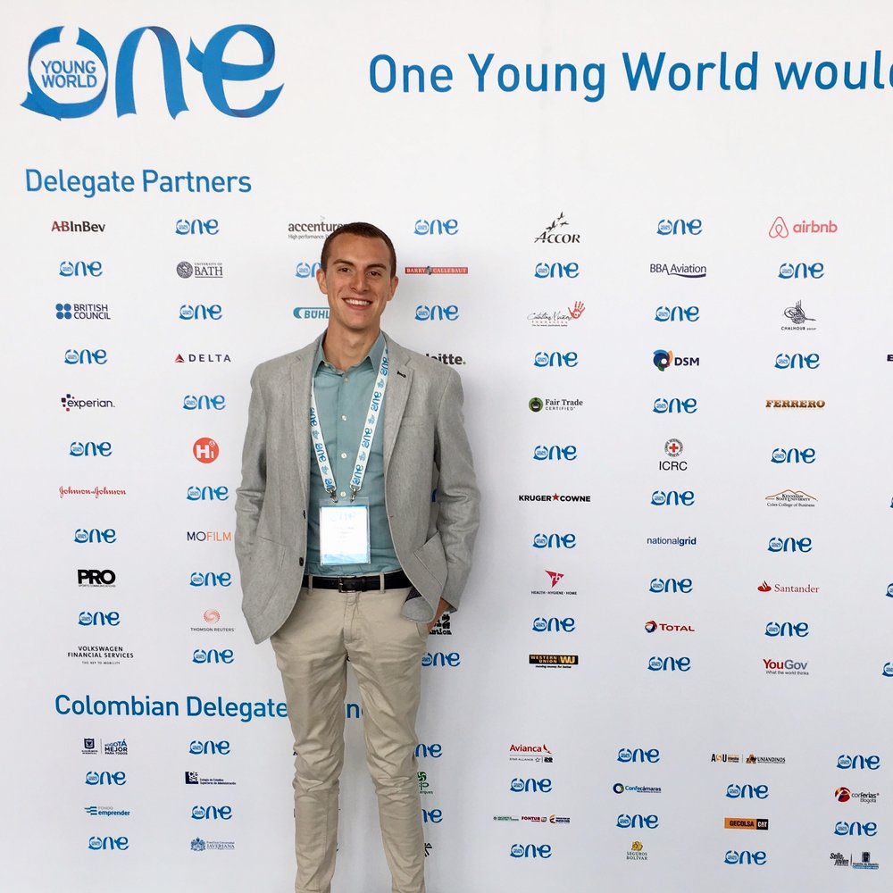 2017 U.S. Delegate & Fair Trade USA Ambassador at One Young World