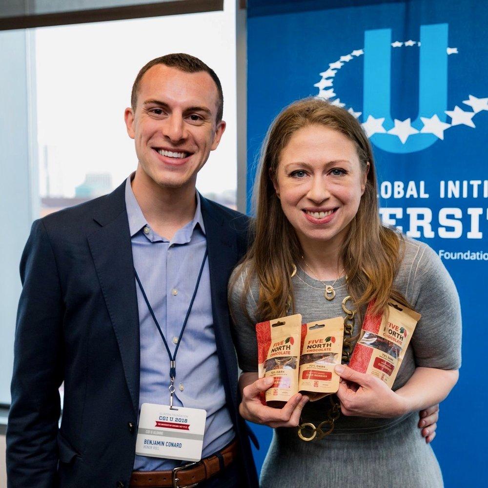 2018 Clinton Global Initiative University Honor Roll Recipient