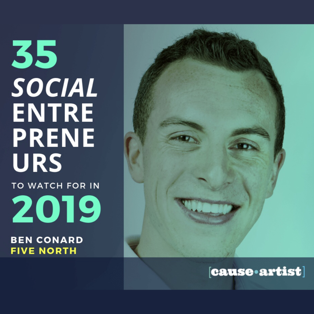 Causeartist's 35 Social Entrepreneurs to Watch for in 2019