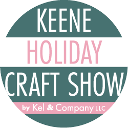 I'll be at the Keene Holiday Craft Show at the Keen High School, Keene, NH, November 30