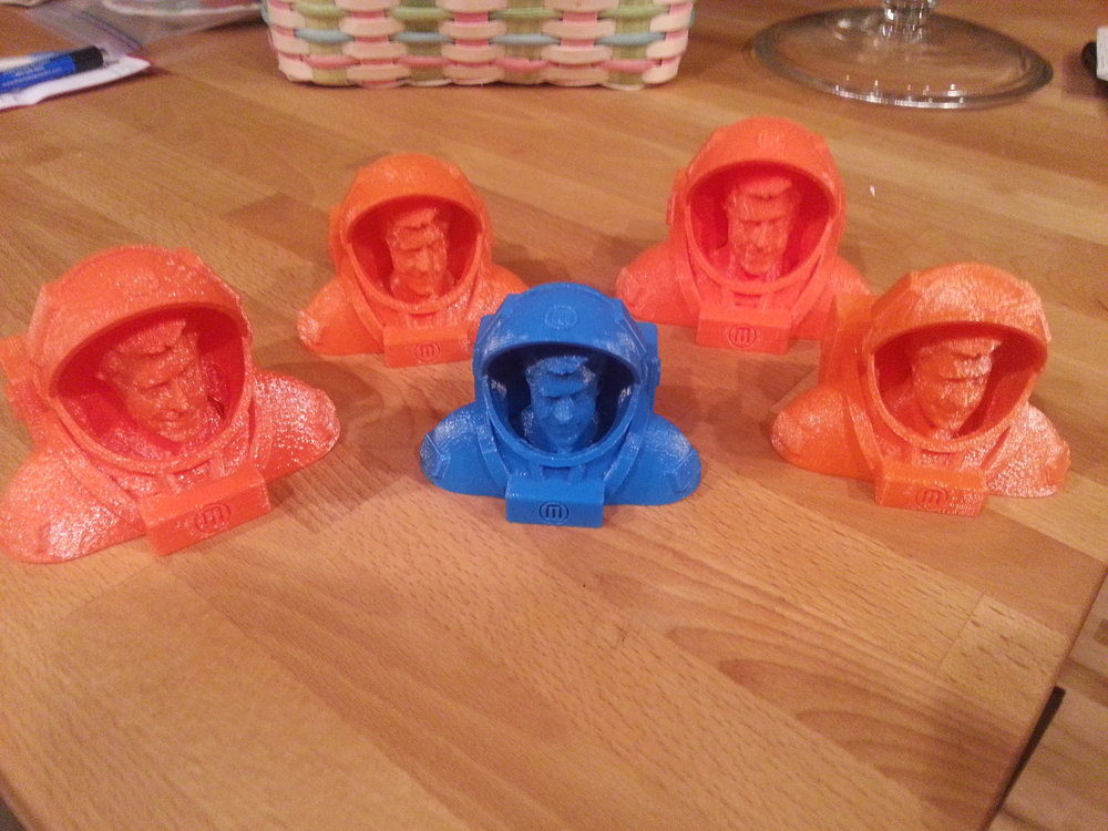 The Colbert Astro-army, ready to embark on their near-space adventure.