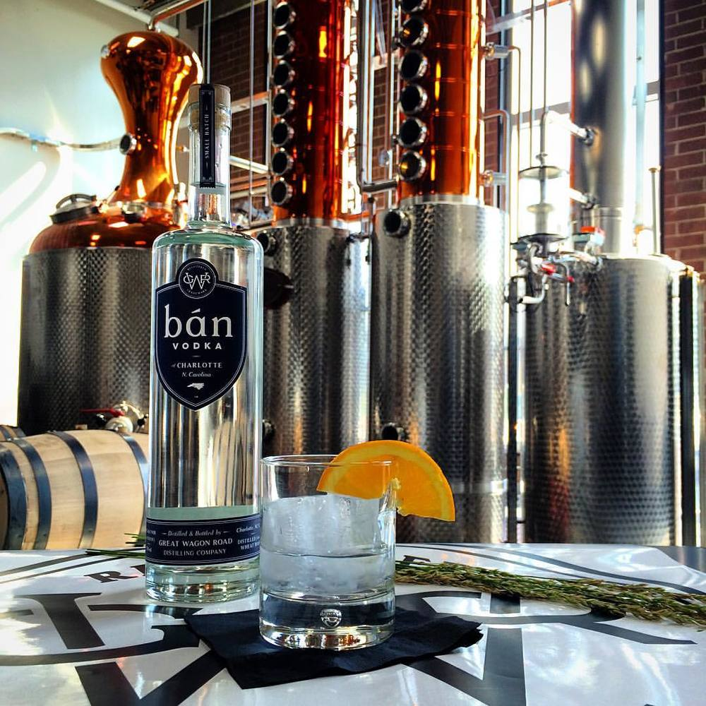 BAN - Wheat Mash Vodka   Crafted with care, smooth and fresh, using premium wheat.  40% ABV (80 Proof)