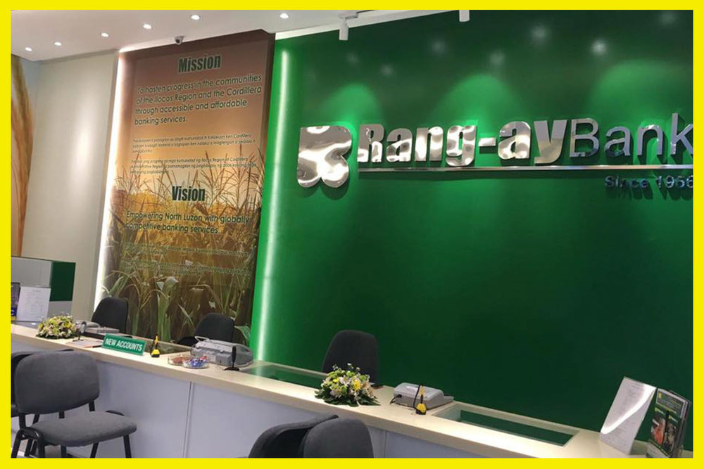 Inside the branch premises.