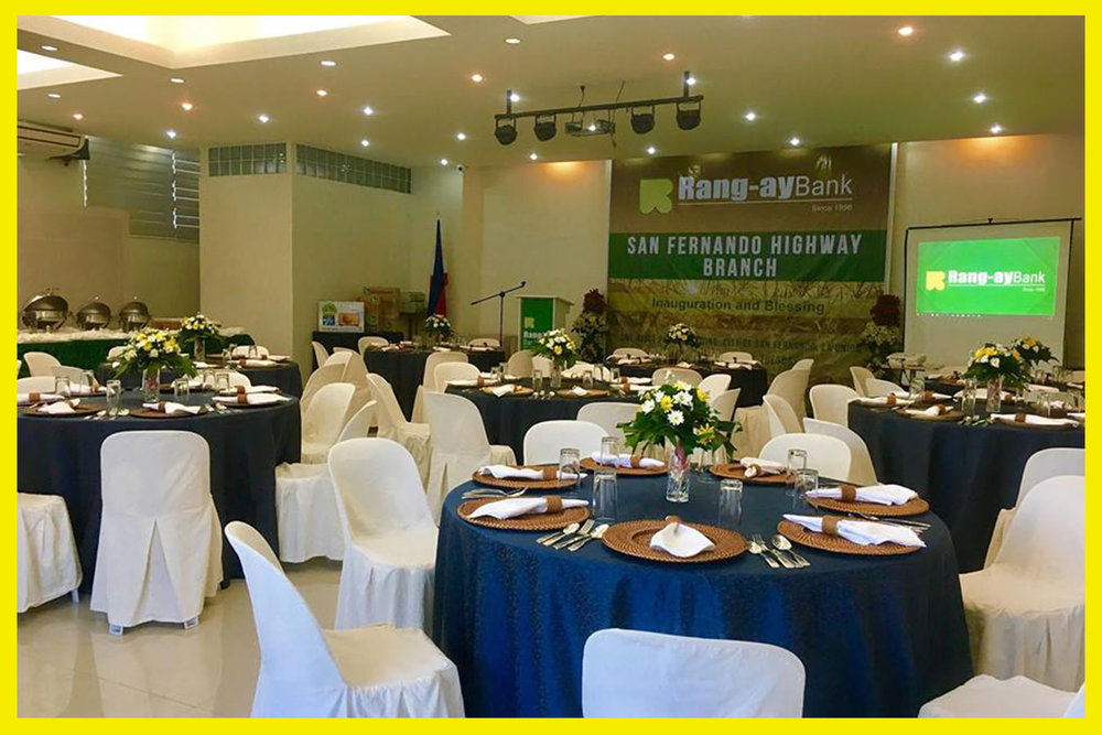 The reception was held at the ONP Events hall located along the national highway, at the second floor of the ONP Building, City of San Fernando, La Union.