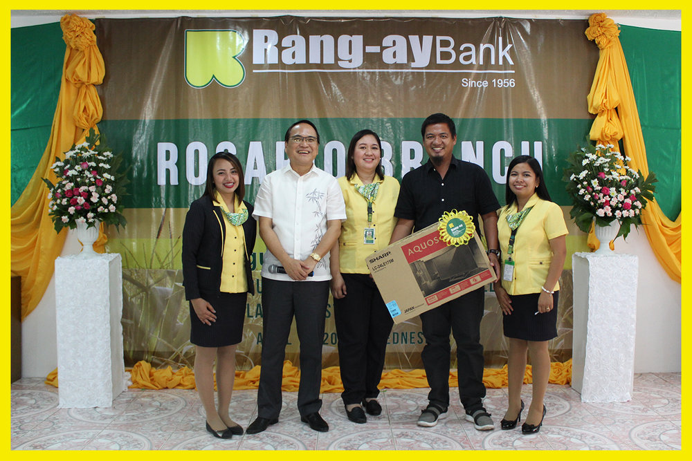 Grand Raffle Prize Winner - Mr. Erwin Perez