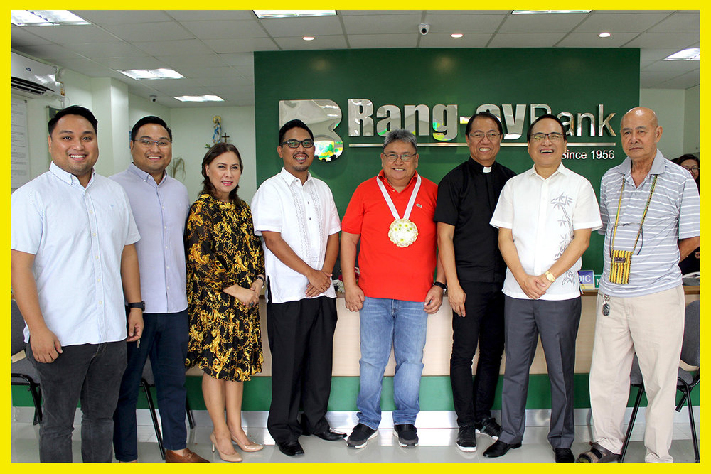 Nisce Family together with District II Board Member Bellarmin Flores II and Rev. Fr Noel Peter Lazo