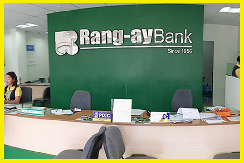Inside view of the Rang-ay Bank Rosario (La Union) Branch