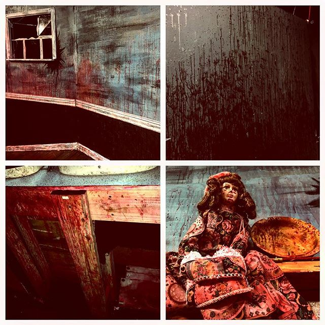 We took photographic evidence of a blood-soaked @thegaragetheatre Sunday before tearing down the set. Thank you all who saw our show or followed our shenanigans here on Instagram, it was an incredible seven week run! We're working on cutting together video taken during several performances, so stay tuned for more Deadite delights! #evildeadthemusical #crimescene #blood #deadites #evildead #longbeach #videocomingsoon #staytuned