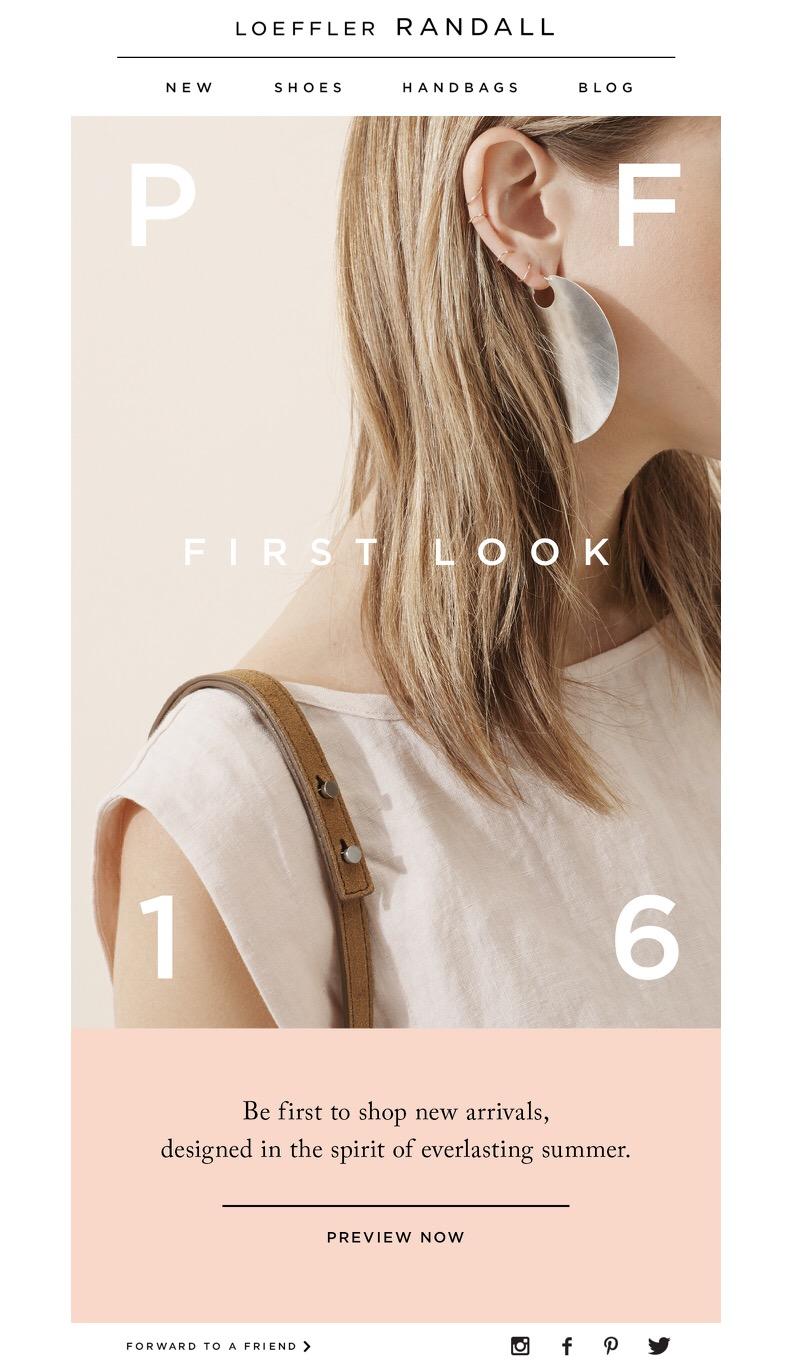 "Loeffler Randall: ""First Look at Pre-Fall 2016,"" 6.1.2016"