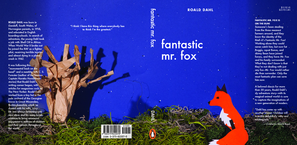 Fantastic Mr. Fox Dustjacket