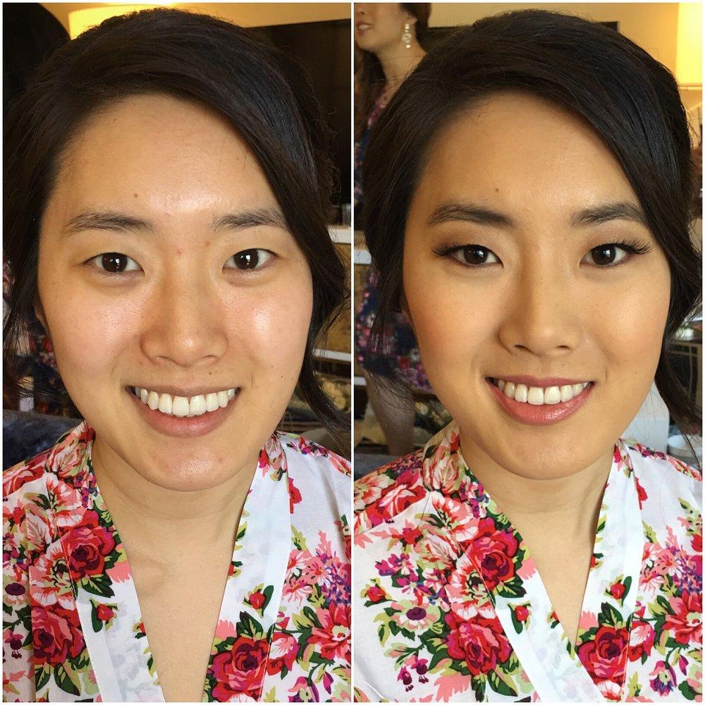 Bridal Client | Hair by Rofyah Le // E2 Beauty | Makeup by me