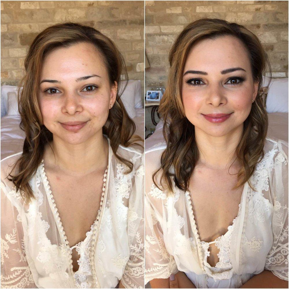 Bridal Client | Hair: Mindy Lee // E2 Beauty | Makeup by me