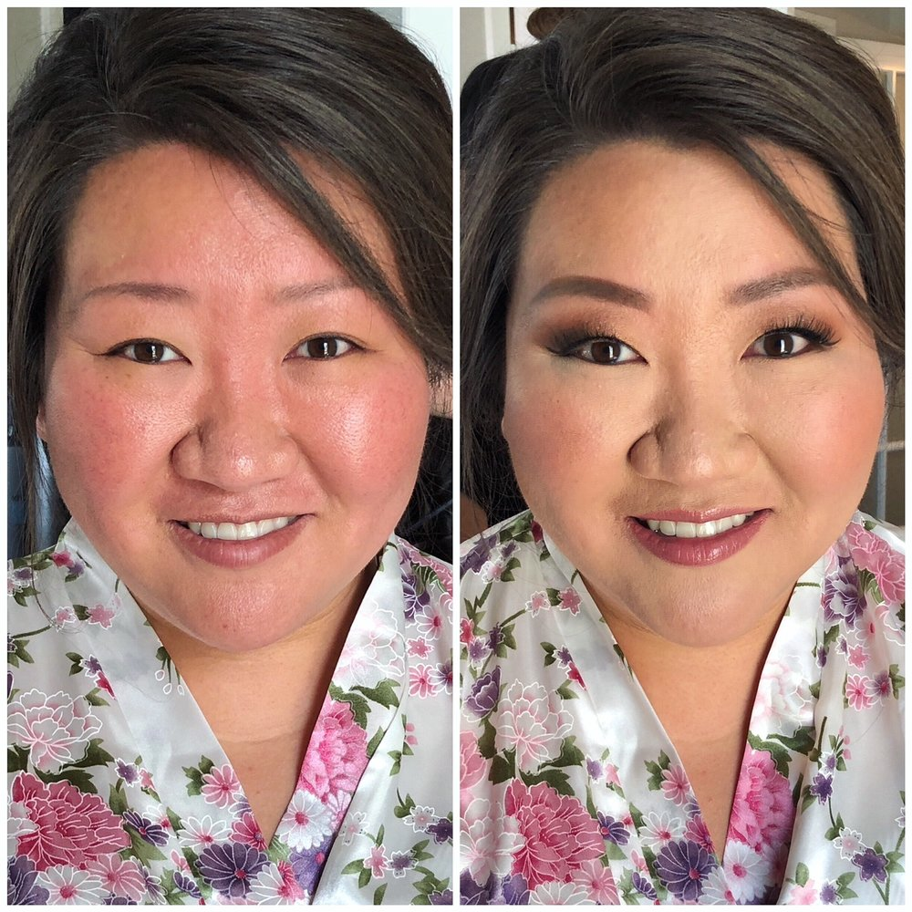 Bridal Client | Hair by Genie Chung // E2 Beauty | Makeup by me