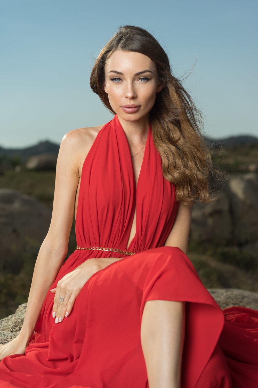 Photographer: Matt Schutter | Model: Elena Uvarova | Makeup by me | Shot for NPN