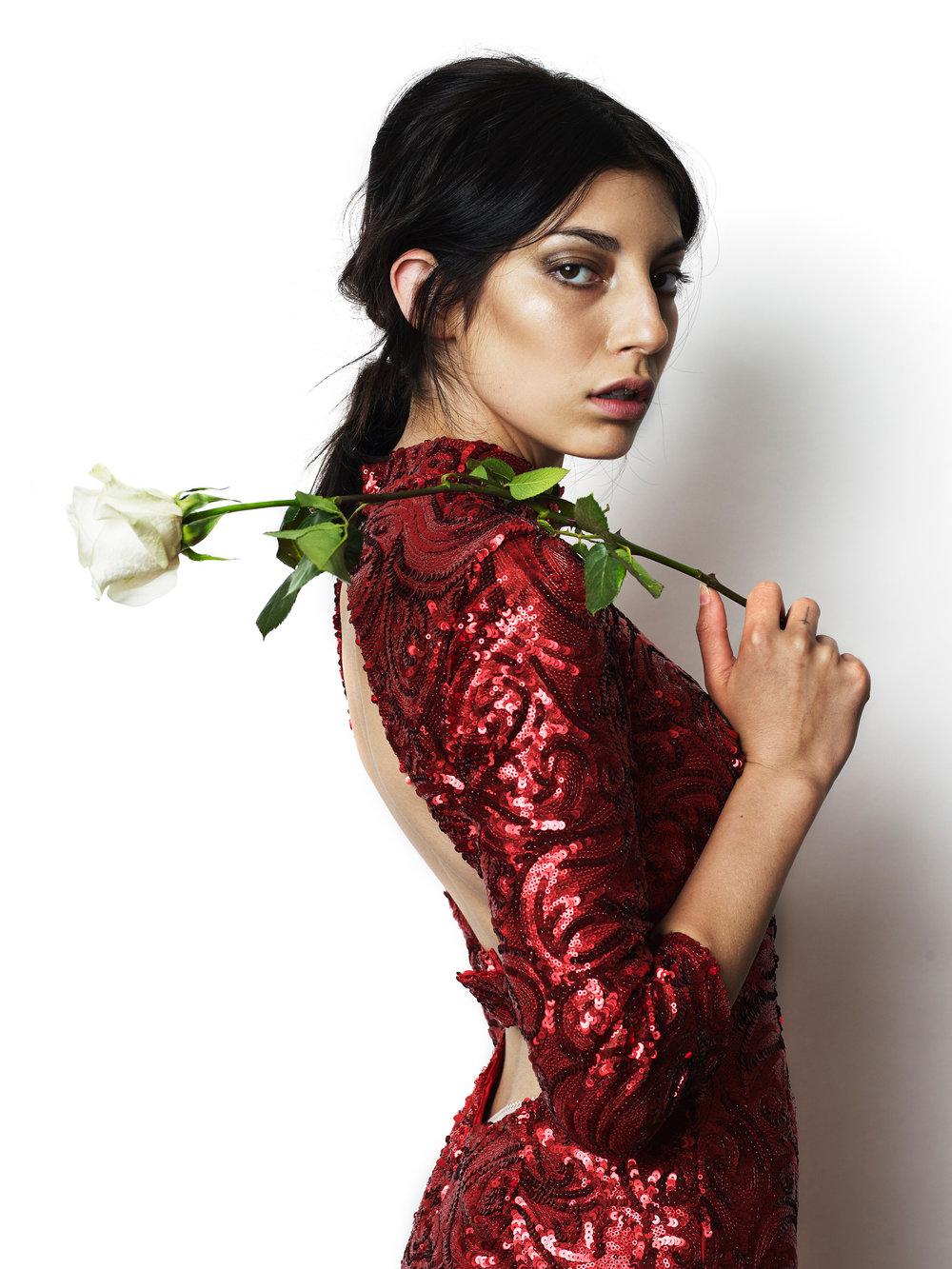 Photographer: Sergio Necoechea | Model: (Artist) Death by Romy | Hair: Brianna Barela | Makeup by Ashley Tani