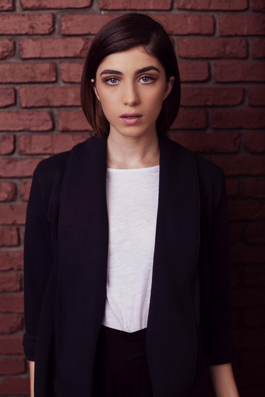 Photographer: Sergio Necoechea | Model: Andra Nechita | Hair & Makeup by Ashley Tani