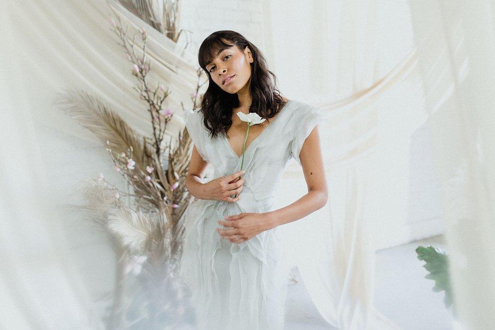 Photographer: Jen Sosa | Styling: Benjamin Holtrop | Florals/Set Design: Liz Molina//Rawfinery