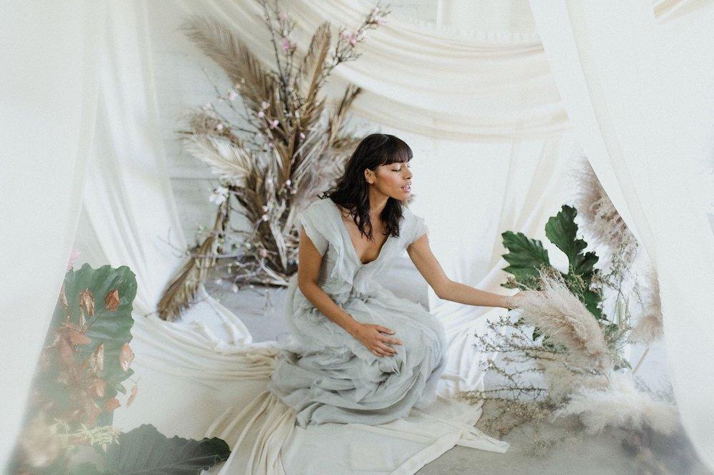 Model: Brittany Battisti | Hair: Kelsey Zahn | Makeup: Ashley Tani | Gown: Shop Gossamer