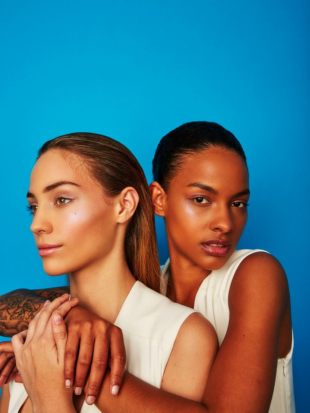 Photographer: Sergio Necoechea | Model(s): Agustina Tisler & Jordyn Renee | Hair: Brianna Barela | Makeup by Ashley Tani
