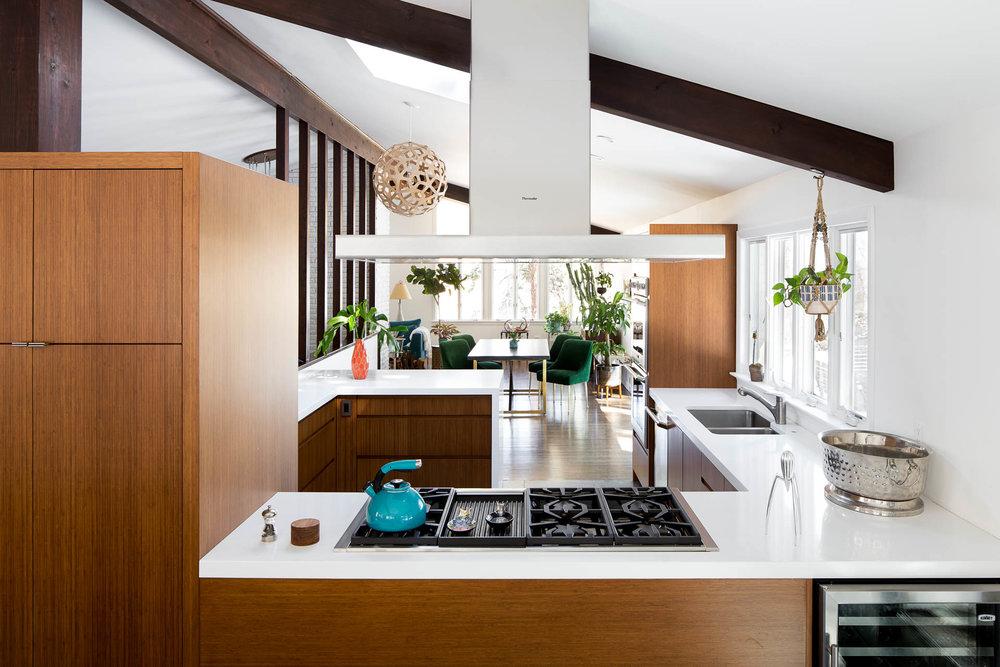Midcentury Kitchen Renovation