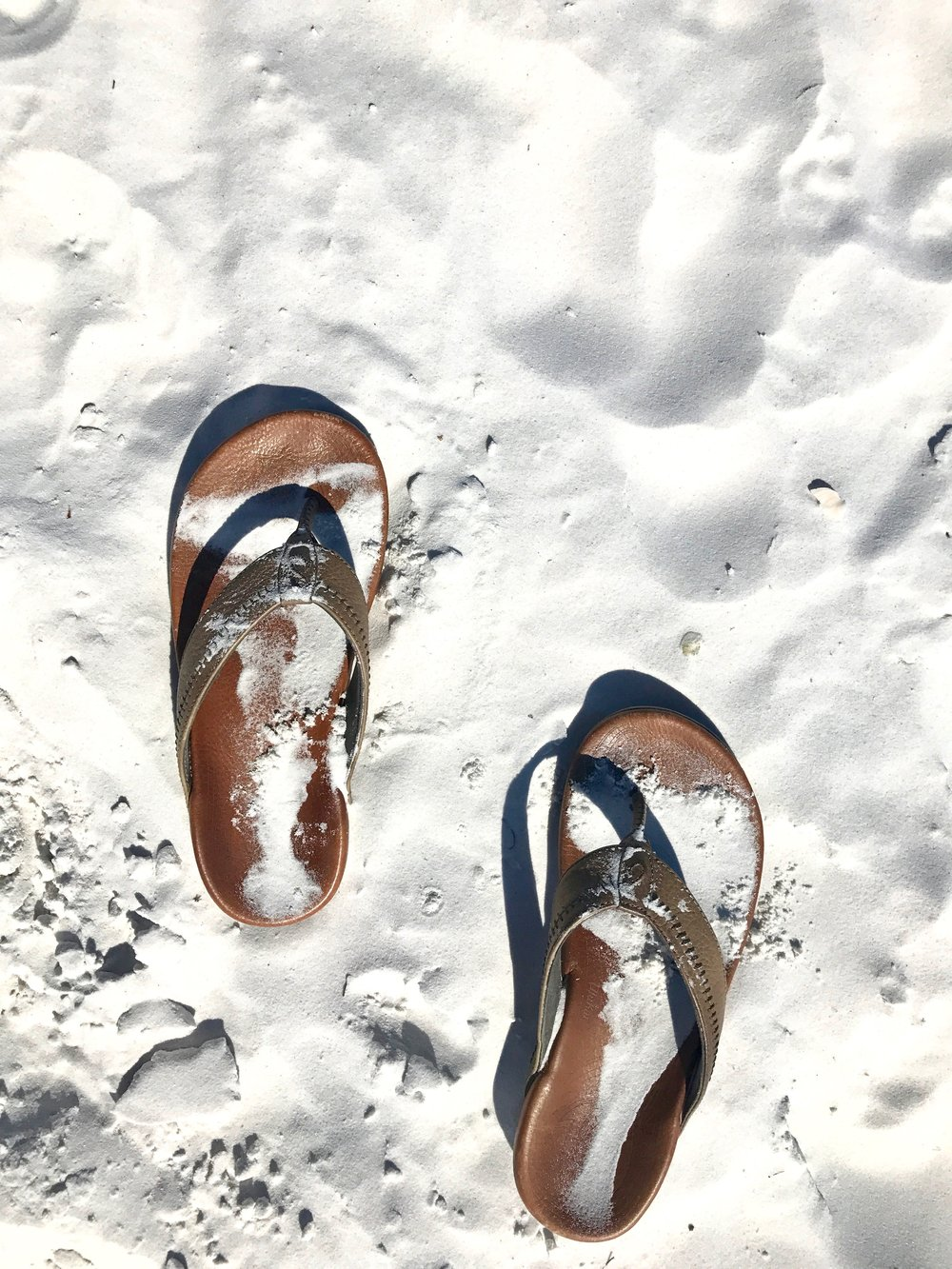 Sandals at Siesta Key
