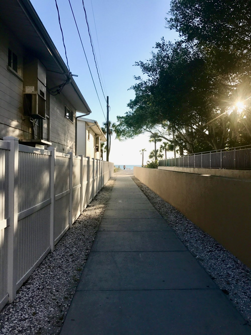 Secret beach alley