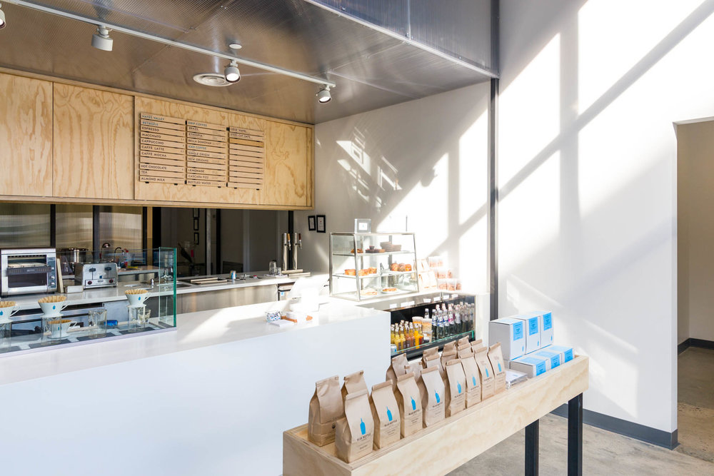 The search for beans is, of course, null at a place like Blue Bottle. What are they serving, I wonder? Probably beans from Blue Bottle. whaddayaknow :)