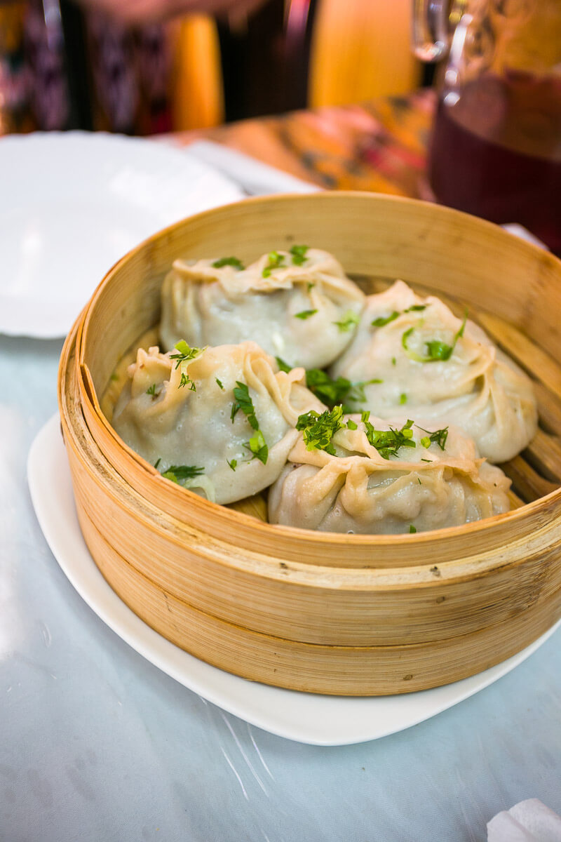 Manty  lamb dumplings are one of the most notorious dishes of the cuisine.