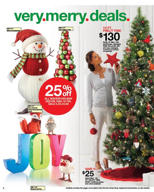target print weekly ad megan frey copywriter - Target Christmas Decorations Sale