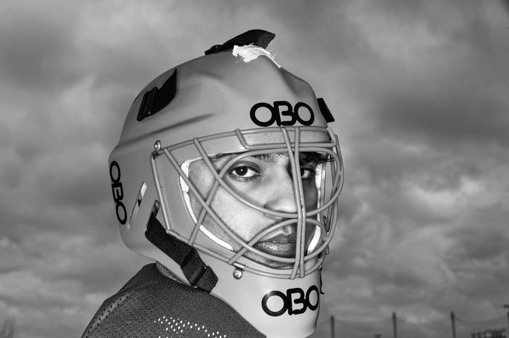 Goallie portrait