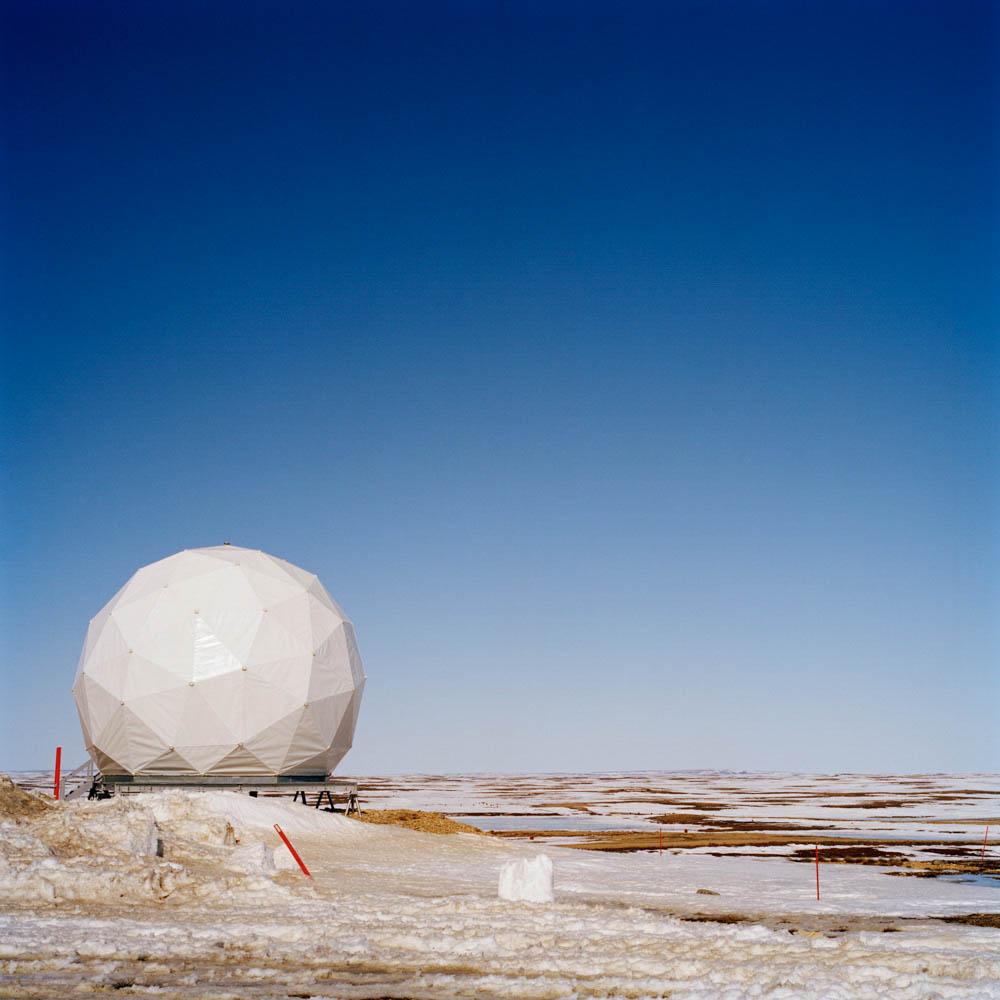 DEW Line Base Radar